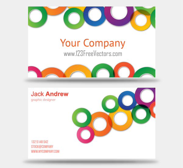Business Card Design Layout Ideas