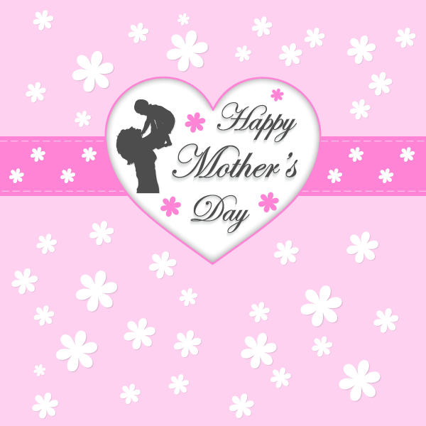 happy mothers day greeting card123freevectors on
