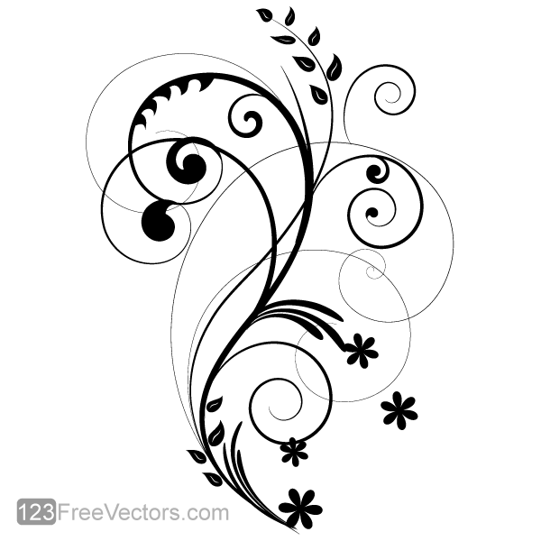 Vector Floral Design 2 by 123freevectors on DeviantArt