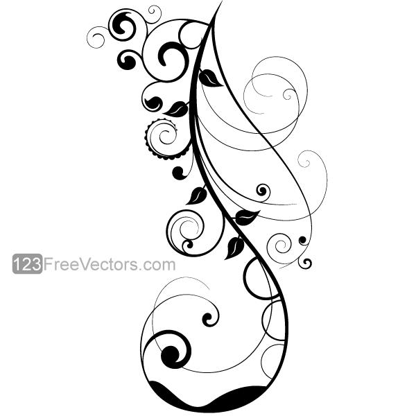 Vector Floral Design 7 by 123freevectors on DeviantArt
