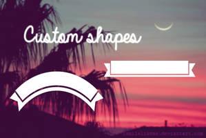 Custom Shapes by iSmileLikeMe