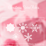 Christmas SnowFlakes -Brushes-