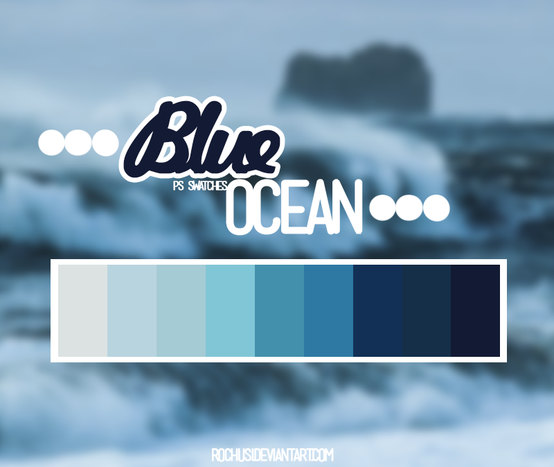 Blue ocean by iSmileLikeMe
