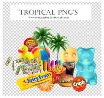 Tropical Png's [50 PNG'S] by iSmileLikeMe