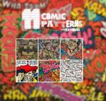 Comic Patterns + Texturas by iSmileLikeMe