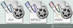 Media Filetypes - Three Pack