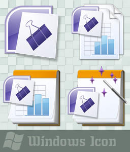 Microsoft Binder 2007 - Icon by ssx