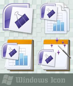 microsoft binder 2007 icon by ssx on deviantart