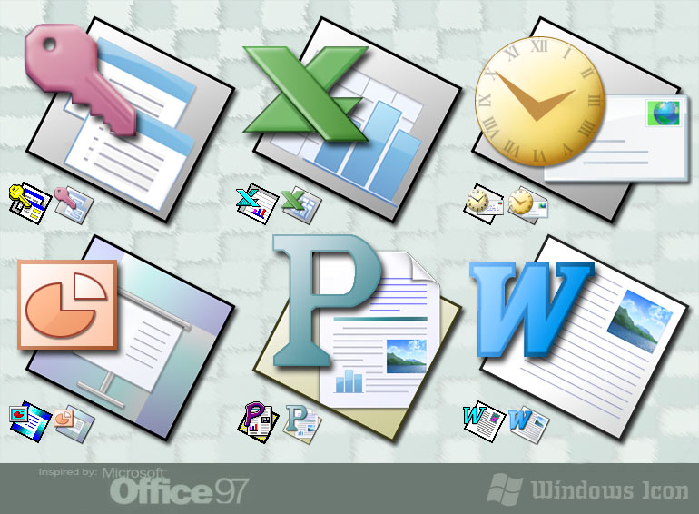 Office Fun Like '97 - Icons by ssx on DeviantArt