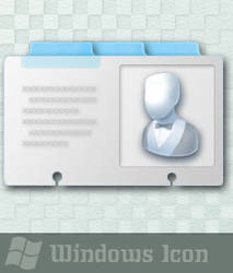 Contact Card - Icon by ssx
