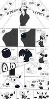 Black Cat V.S Goo Ball Trap (Kronos Trap Comic)