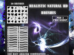 30 Pro Realistic and natural HD brushes _PHOTOSHOP
