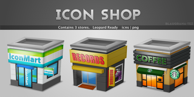 Icon shop package