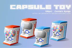 Capsule toy by blaugrana-tez
