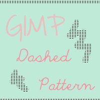 GIMP Dashed Line Pattern by houseki-stock