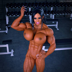 Grace Biceps Animated (Version 2) by Siberianar