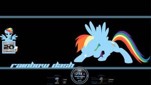 Rainbow Dash Rainmeter