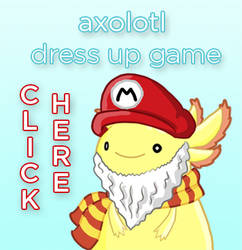 Axolotl Dress Up Game by Lotlism
