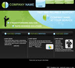 0005 Business Web Layout PSD