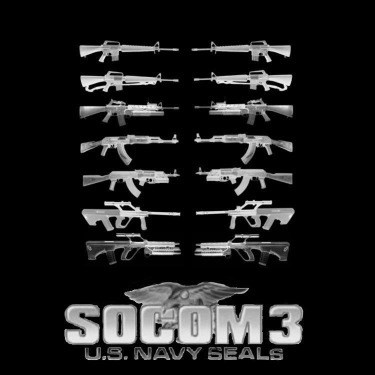 Socom 3 assault guns by joey224224