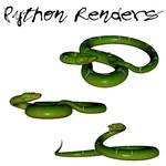 Green Python Render Pack