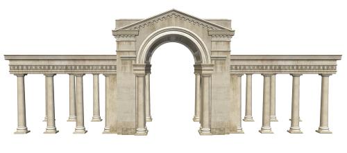 Greco-Roman Building by TexelGirl-Stock