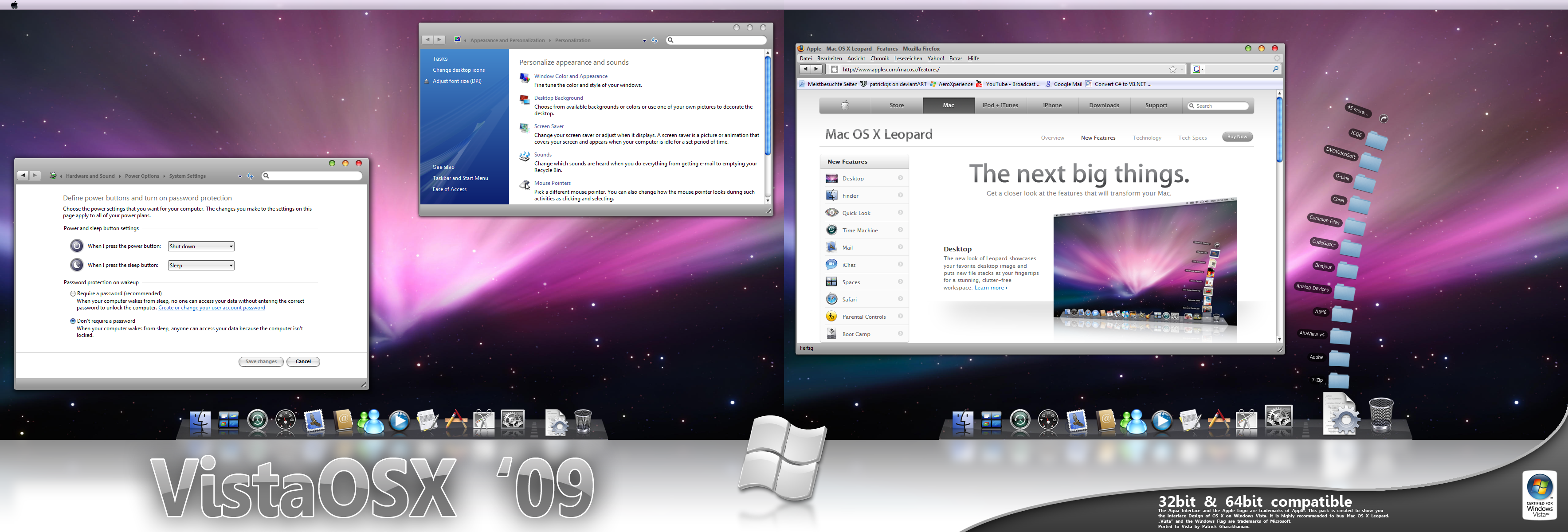 Vista OS X '09 VS by patrickgs