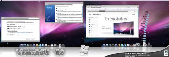 Vista OS X '09 VS