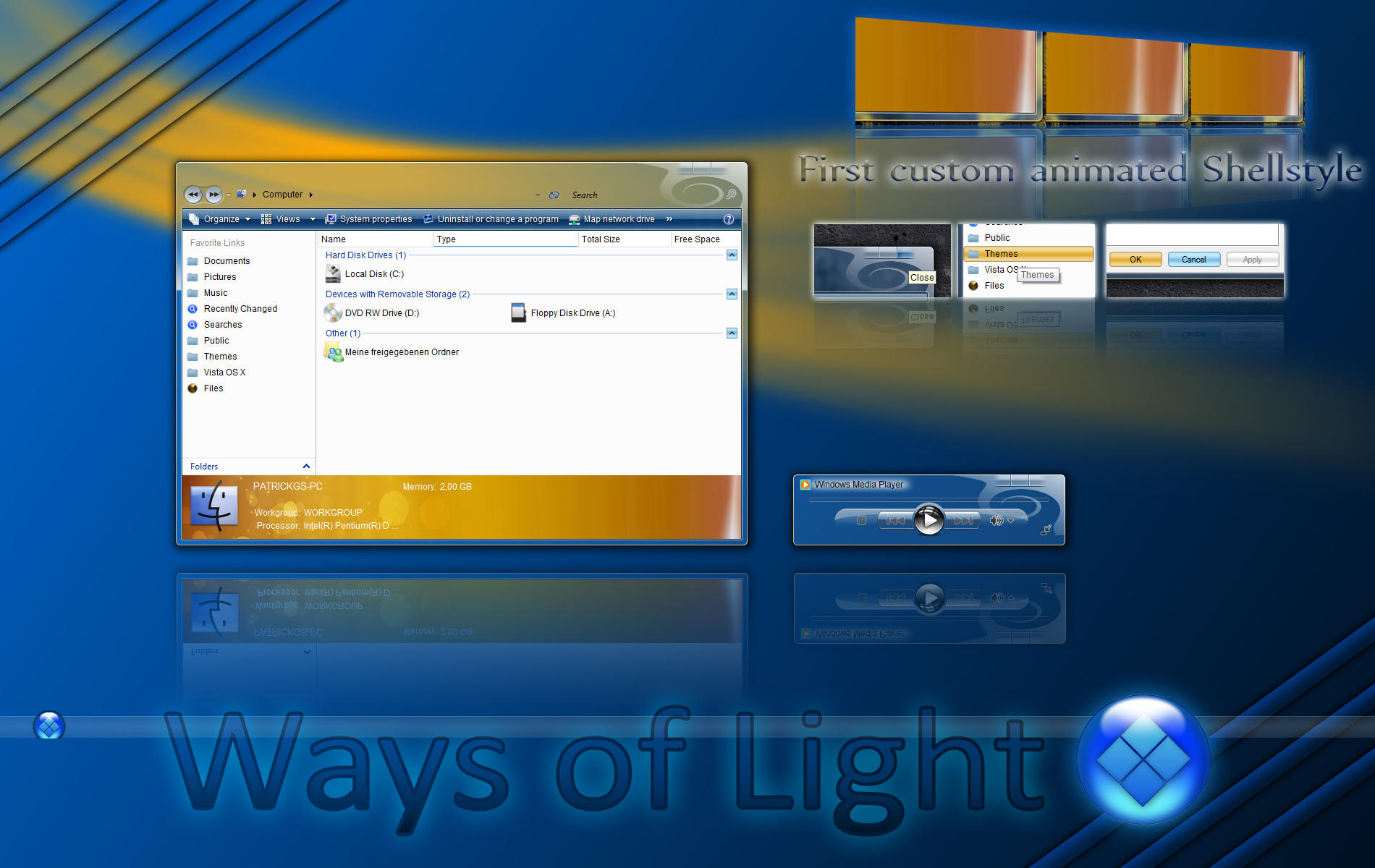 Ways of Light for Vista by patrickgs