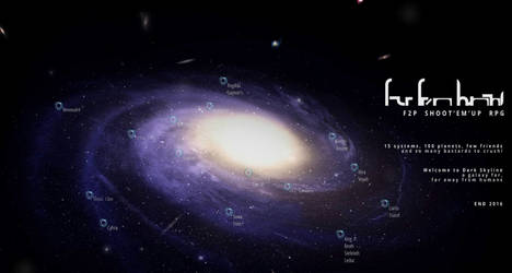 Interactive Galaxy map for RPG