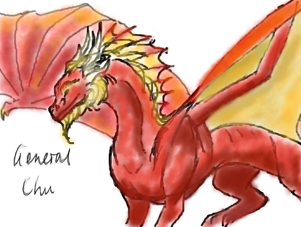 General Chu Sketch by dragonofdivinewind