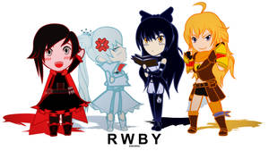 Rwby - chibiRWBY series animated loop!