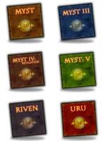 MYST Series Dock Icons v1