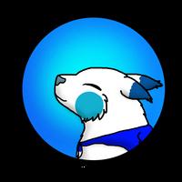 Blue Orchid Cake Fantsunekos Badge