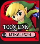 Toon Link Custom Palette Swap Cycle