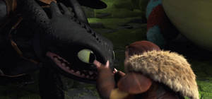 Another Toothless and Valka GIF