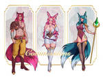 COMMISSION INFO! by lokiisart