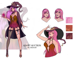 SET PRICE: Autum Witch (OPEN!) by lokiisart