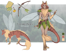ADOPT SET PRICE: Val'drya Scout (OPEN) by lokiisart