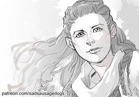 SSD Patreon - Aloy by aimo