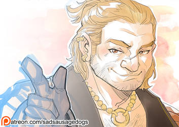 SSD Patreon - Varric Tethras by aimo