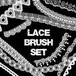 Lace Brush Set