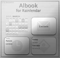 Albook for Rainlendar by Benijamino