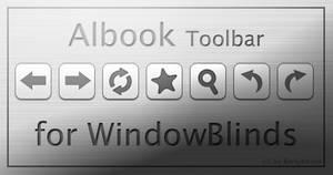 Albook Toolbar - WindowBlinds