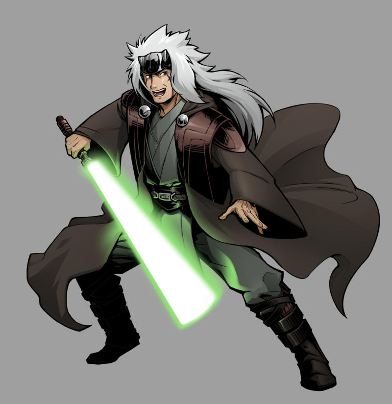 Jiraiya the Jedi hermit (GIF)