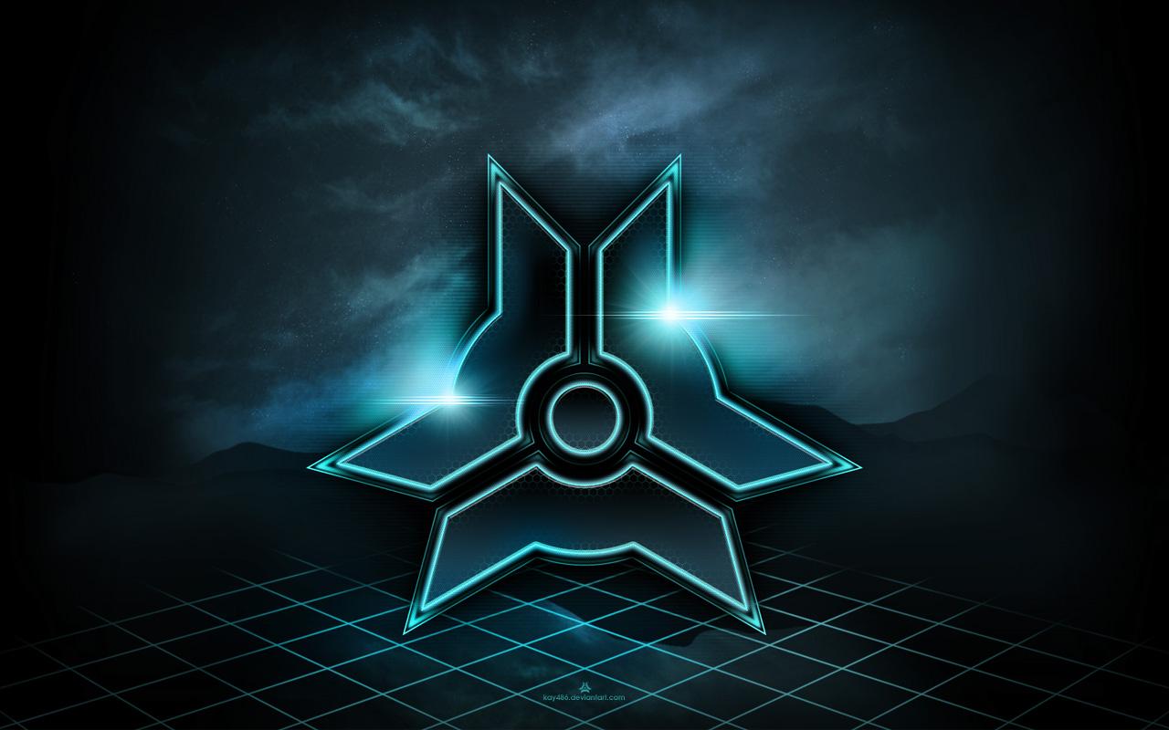 My Logo - tron style WALLPAPER