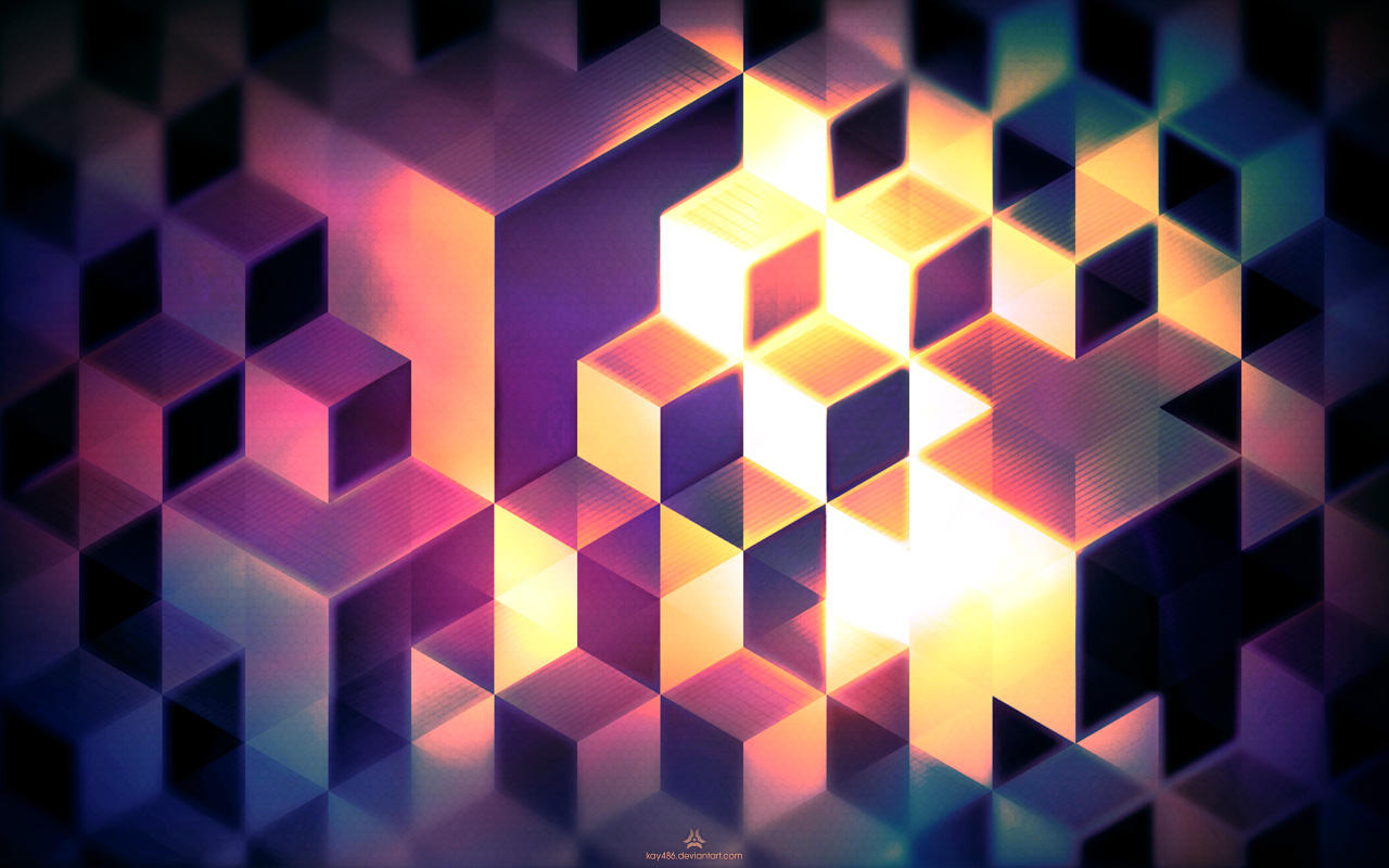 3d abstract cubes background - photo #19