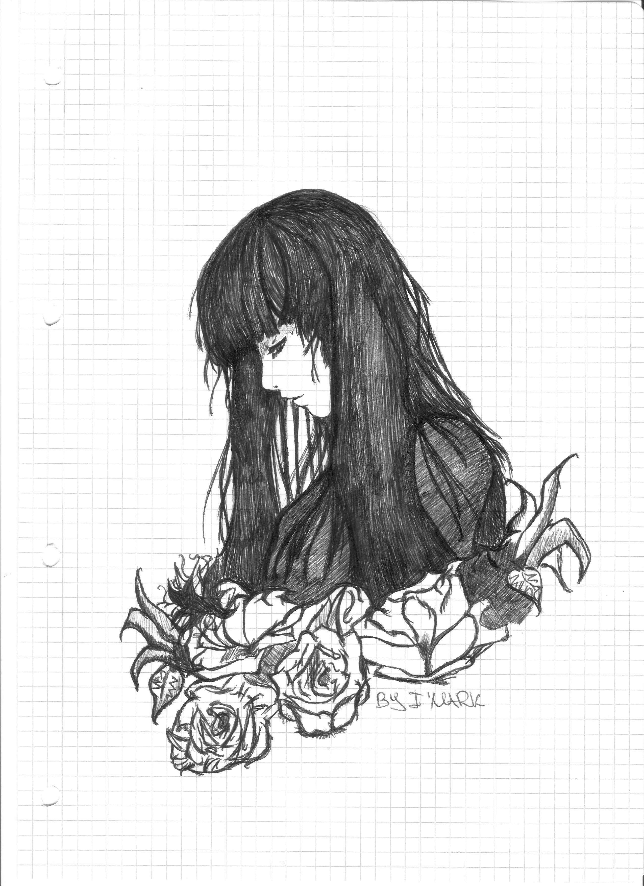 Girl sad cry by markth23 on deviantart