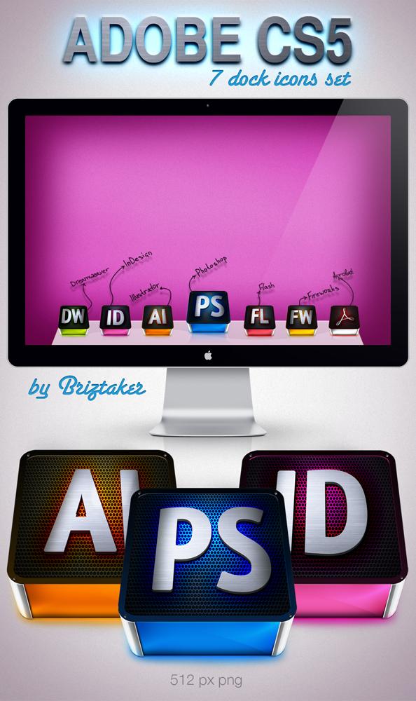 Adobe CS5 set by briztaker