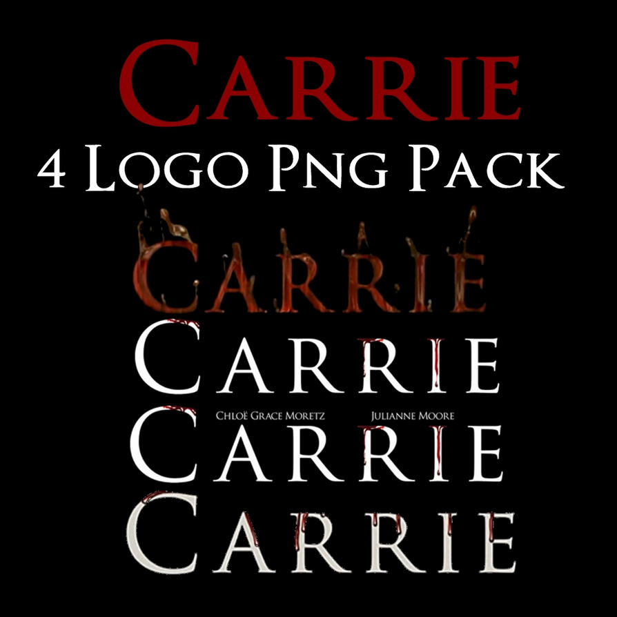 carrie logo png pack by movieposteredits on deviantart